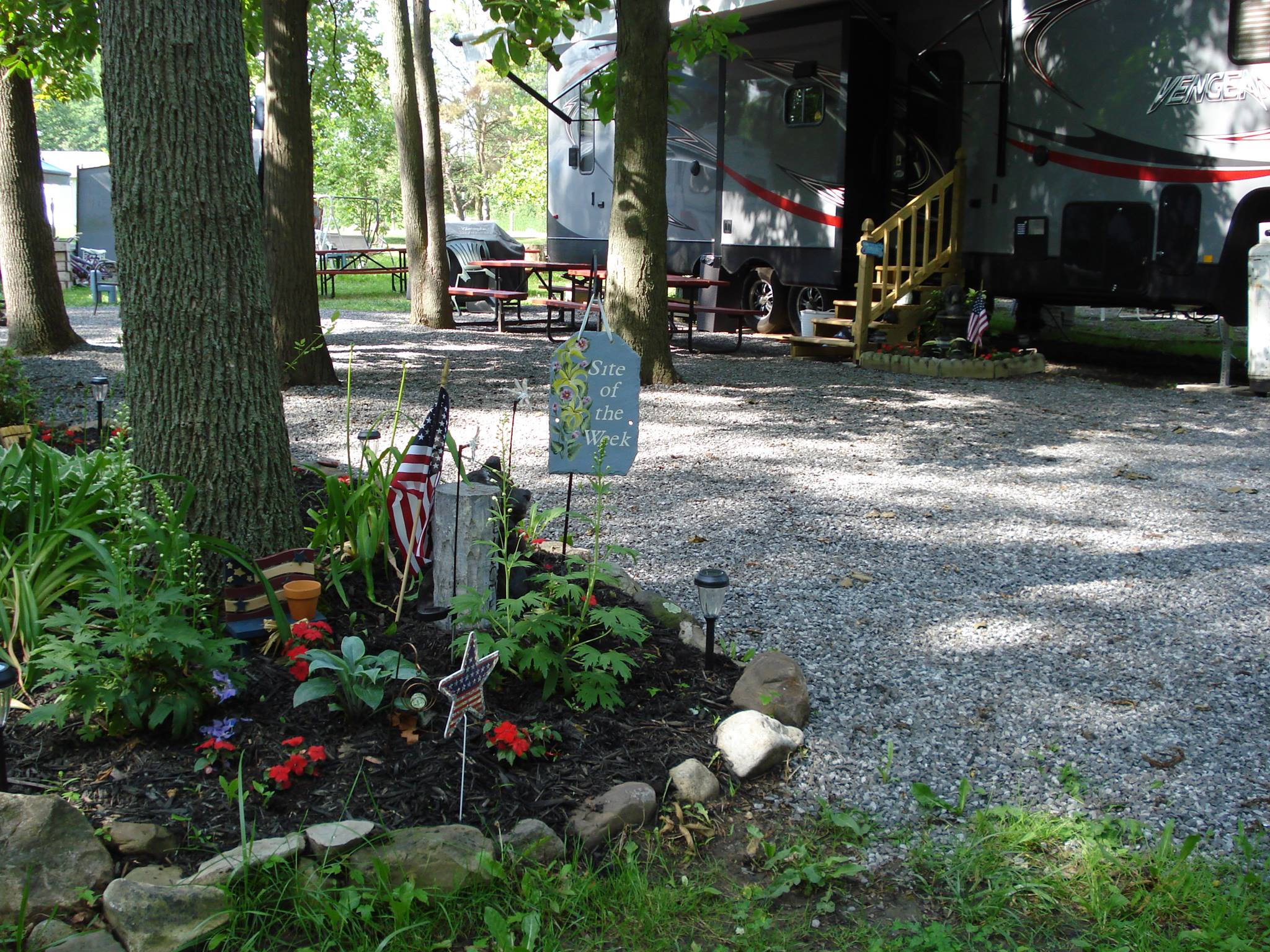 Site of the week at Niagara Woodland Campground